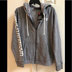 New Under Armour Women Favorite Full Zip hoodie